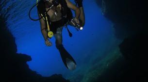 Scuba Diving-Malta-PADI Open Water course in Mellieha Bay, Malta-6