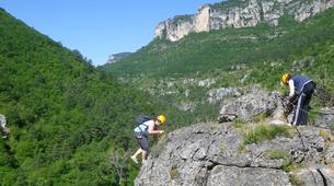 Via Ferrata-Gorges du Tarn-Via Ferrata of Boffi in Cevennes National Park, Millau-4