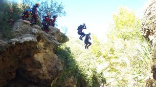 Canyoning-Alicante-Canyoning Gorgo de la Escalera in Alicante-3