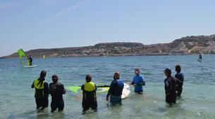 Windsurf-Malte-Windsurfing course in Mellieha Bay, Malta-6