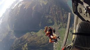 Skydiving-Interlaken-Original Eiger tandem helicopter skydive over Grindelwald near Interlaken-5