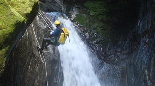Canyoning-Wanaka-Cross Creek canyon near Wanaka-4