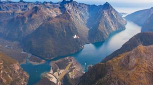 Scenic Flights-Queenstown-Milford Sound flight & cruise from Queenstown-1