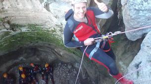 Canyoning-Alicante-Canyoning Gorgo de la Escalera in Alicante-6
