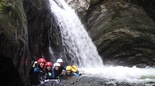 Canyoning-Wanaka-Cross Creek canyon near Wanaka-2