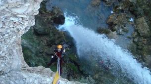 Canyoning-Alicante-Canyoning Gorgo de la Escalera in Alicante-4