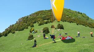 Paragliding-Province of Lleida-Tandem paragliding in Alt Urgell, Lleida-6
