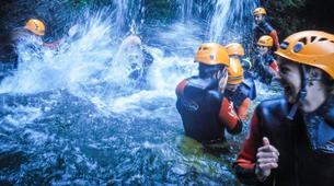 Canyoning-São Miguel-Canyoning the Ribeira dos Caldeiroes in Sao Miguel-6