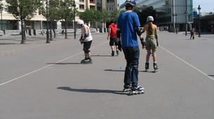 Inline Skating-Paris-Cours de Roller sur la Place de la Bastille, Paris-2