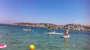 Stand Up Paddle-Malte-Stand up paddling & yoga lesson in Mellieha Bay, Malta-6