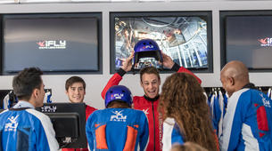 Indoor skydiving-Paris-First time indoor skydiving flight in Paris-4