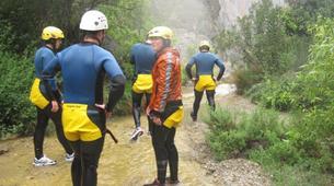 Canyoning-Granada-Lenteji canyon near Granada, Andalusia-4