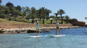 Stand Up Paddle-Malte-Stand up paddling & yoga lesson in Mellieha Bay, Malta-1