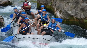 Rafting-Omis-Rafting down the Cetina River in Omis-3