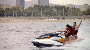 Jet Ski-Barcelona-Jet ski excursion around Port Forum in Barcelona-1