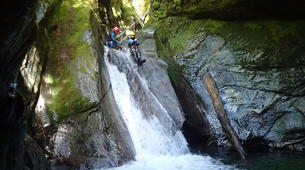 Canyoning-Wanaka-Cross Creek canyon near Wanaka-3