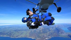 Skydiving-Interlaken-Tandem skydive over Interlaken, Switzerland-2