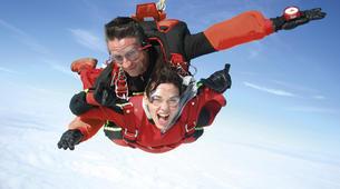 Parachutisme-Narbonne-Saut en parachute tandem à Lézignan-Corbières, près de Narbonne-4