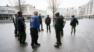 Inline Skating-Paris-Cours de Roller sur la Place de la Bastille, Paris-1