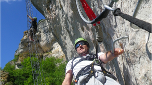 Via Ferrata-Cevennes National Park-Via Ferrata of Liaucous in Cevennes National Park-5