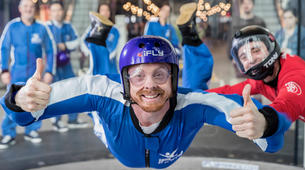 Indoor skydiving-Paris-First time indoor skydiving flight in Paris-5