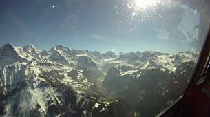 Skydiving-Interlaken-Original Eiger tandem helicopter skydive over Grindelwald near Interlaken-3