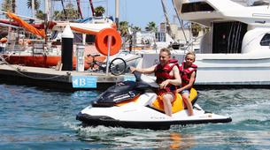 Jet Ski-Barcelona-Jet ski excursion around Port Forum in Barcelona-4
