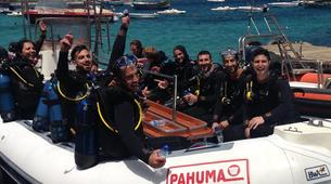 Scuba Diving-Malta-PADI Discover Scuba Diving course in Mellieha Bay, Malta-5