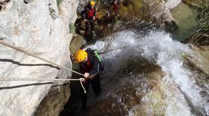 Canyoning-Alicante-Canyoning Barranco del Mela in Alicante-6