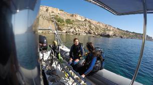 Scuba Diving-Malta-PADI Discover Scuba Diving course in Mellieha Bay, Malta-3