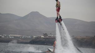 Flyboard / Hoverboard-Puerto del Carmen, Lanzarote-Sessions de Flyboard à Puerto del Carmen, Lanzarote-3