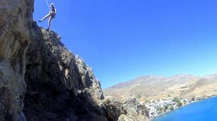 Rock climbing-Heraklion-Session d'Escalade aux Gorges d'Agio Farago, Sud de la Crète-5
