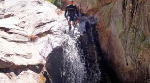 Canyoning-Ribeira da Pena-Canyon of Rio Poio near Ribeira da Pena-3