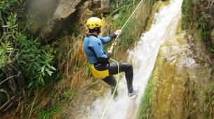 Canyoning-Granada-Lenteji canyon near Granada, Andalusia-5