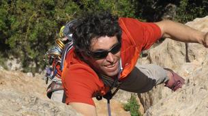 Rock climbing-Gorges du Tarn-Escalade en Grande Voie dans les Gorges de la Jonte-3