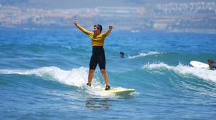Surf-Costa Adeje, Tenerife-Advanced surfing course in Playa de las Americas, Costa Adeje-3