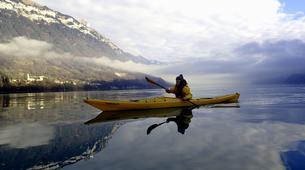 Kayaking-Interlaken-Winter kayaking tour on Lake Brienz, Interlaken-1