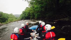 Rafting-Denbighshire-Rafting down the River Dee in Llangollen-3