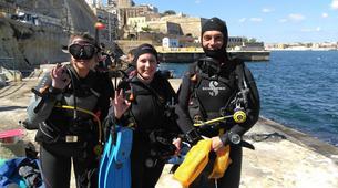 Scuba Diving-Malta-PADI Scuba Diver course in Sliema, Malta-2