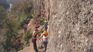 Rock climbing-Gorges du Tarn-Escalade dans les Gorges du Tarn, les Cévennes-4