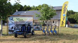 Chiens de traîneau-Aveyron-Chiens de traîneau près de Laguiole dans l'Aveyron-4
