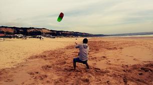 Kitesurfing-Praia do Guincho-Kitesurfing lessons in Praia do Guincho near Lisbon-4