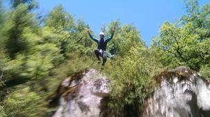 Canyoning-Gorges du Tarn-Canyoning dans les Gorges du Tapoul, les Cévennes-5