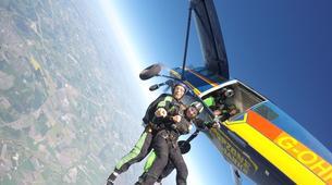 Skydiving-Herning-Tandem skydive in Herning, Denmark-5