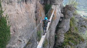 Via Ferrata-Gorges du Tarn-Via Ferrata de Liaucous dans les Gorges du Tarn-6