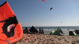 Kitesurfing-Praia do Guincho-Kitesurfing lessons in Praia do Guincho near Lisbon-2