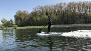 Surfing-Charleroi-Jetsurf in Eau d'Heure lakes, near Charleroi-1