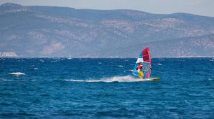 Windsurfing-Nafplio-Windsurfing lesson in Nafplio-1