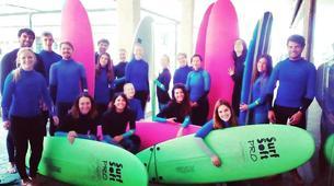Surfing-Porto-Surf lessons on Matosinhos Beach, Porto-11