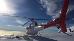 Helicopter tours-Franz Josef Glacier-Fox & Franz Josef Twin Glacier scenic heli flight with snow landing-3